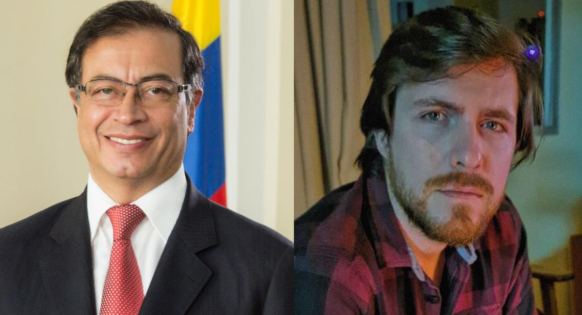Gustavo Petró, brasilero con cuenta @gustavopetro; Gustavo Petro, colombiano con cuenta @petrogustavo. Foto: Twitter @gustavopetro / facebook Gustavo Petro