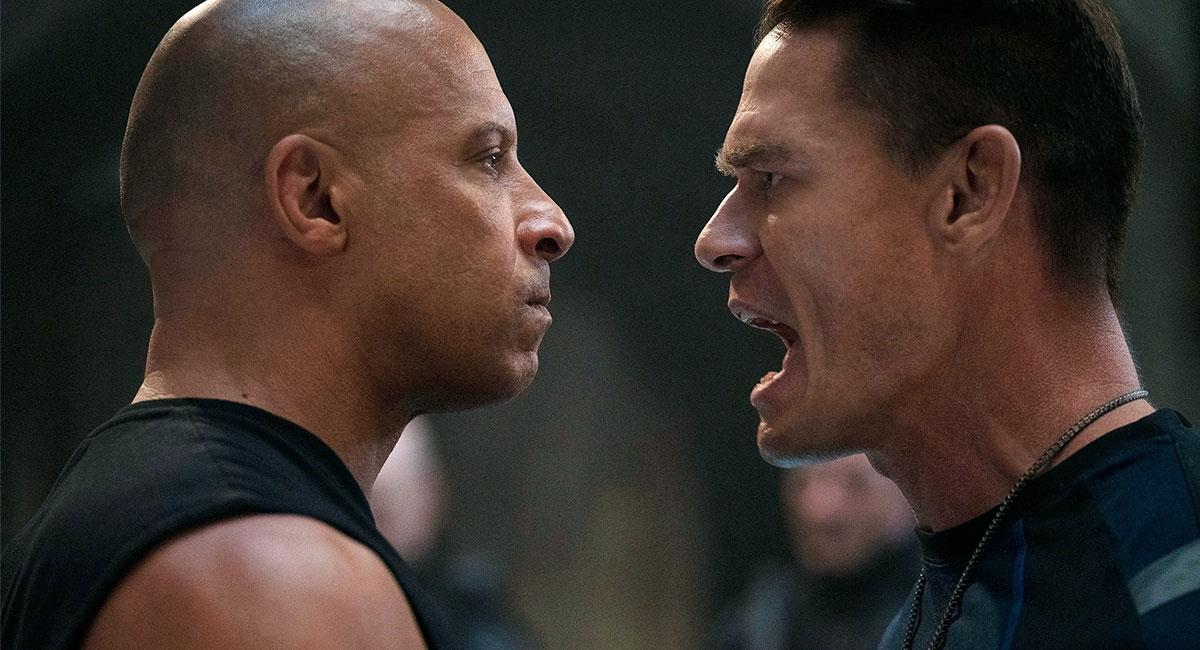 """Vin Diesel y John Cena comparten escena en """"Rápidos y Furiosos 9"""". Foto: Twitter @TheFastSaga"""