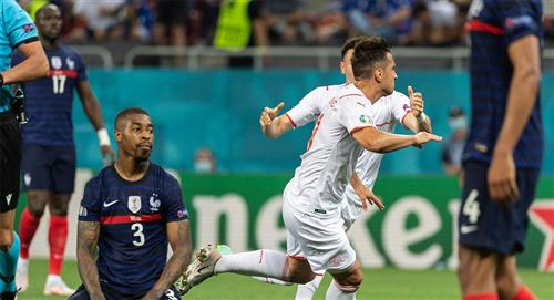 Francia, la máxima candidata, quedó eliminada de la Euro 2020