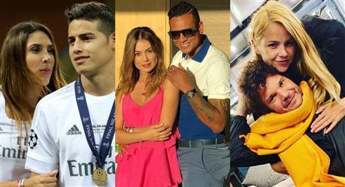 James, Sara Uribe, Johana Bahamón y más celebridades que son amigos de sus ex