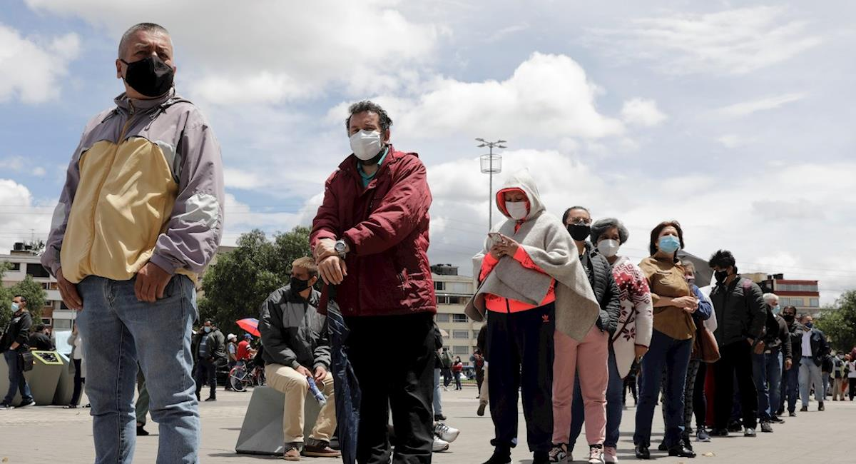 Junio ha sido el peor mes de la pandemia para Colombia. Foto: EFE