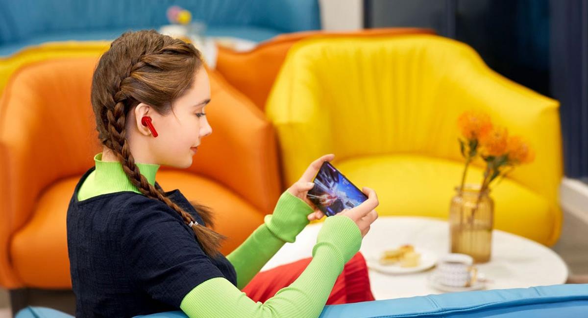 Los FreeBuds 4i son unos audífonos de alta potencia pero con un precio asequible. Foto: Twitter @Huawei