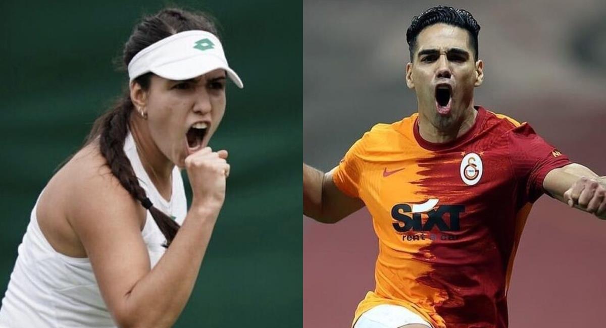 Mensaje motivante de Falcao a María Camila Osorio. Foto: Instagram Prensa redes Falcao y María Camila Osorio.
