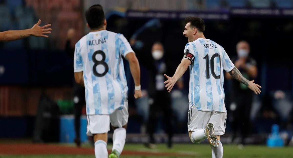 Argentina eliminó a Ecuador. Foto: EFE