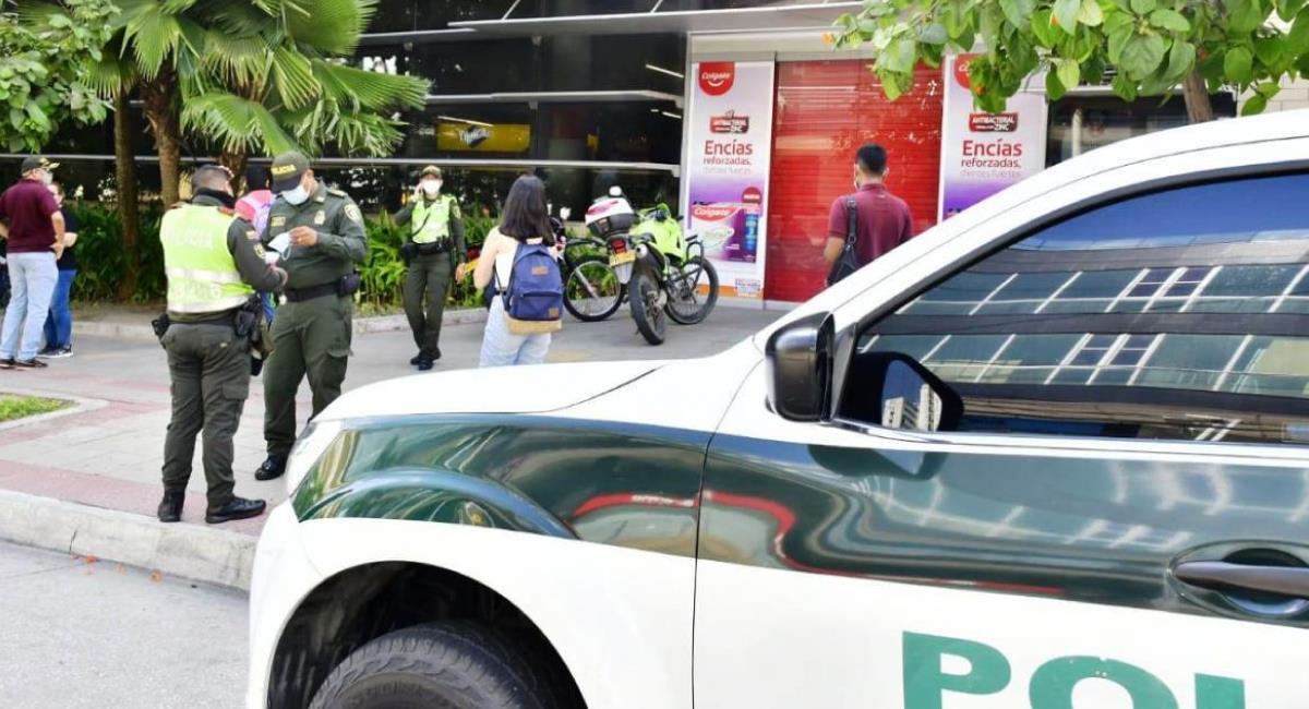 Las autoridades desmienten que el caso se haya presentado con una toma de rehenes. Foto: Twitter