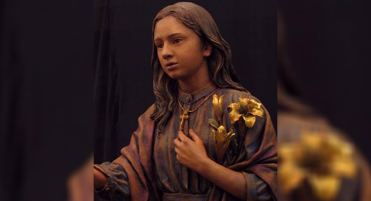 Curiosidades sobre Santa María Goretti: la niña que perdonó a su asesino antes de morir. Foto: Twitter @Santa_Palabra