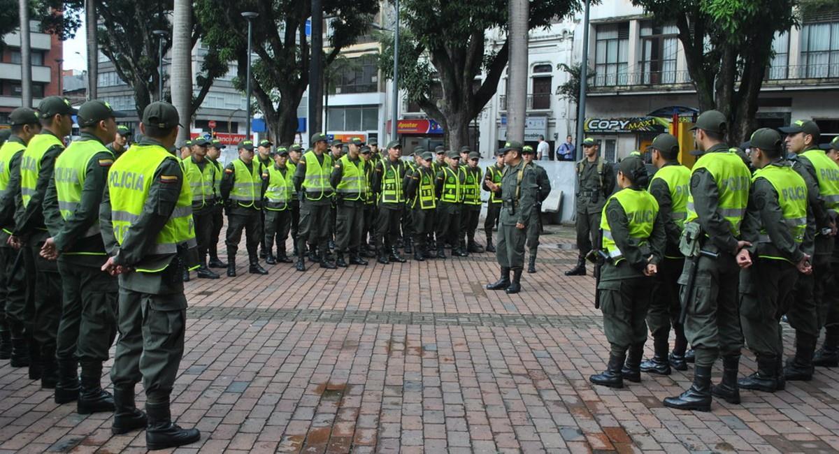 Policía Nacional de Colombia. Foto: Flickr.