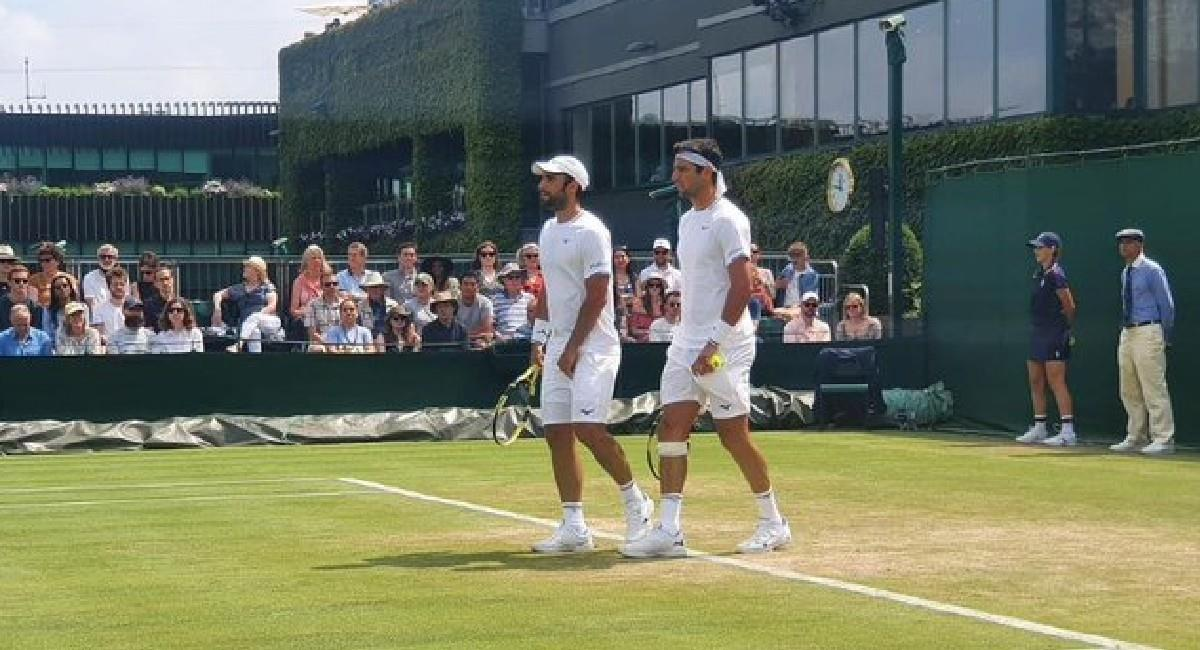 Cabal y Farah eliminados de Wimbledon. Foto: Twitter @ATPTour_ES