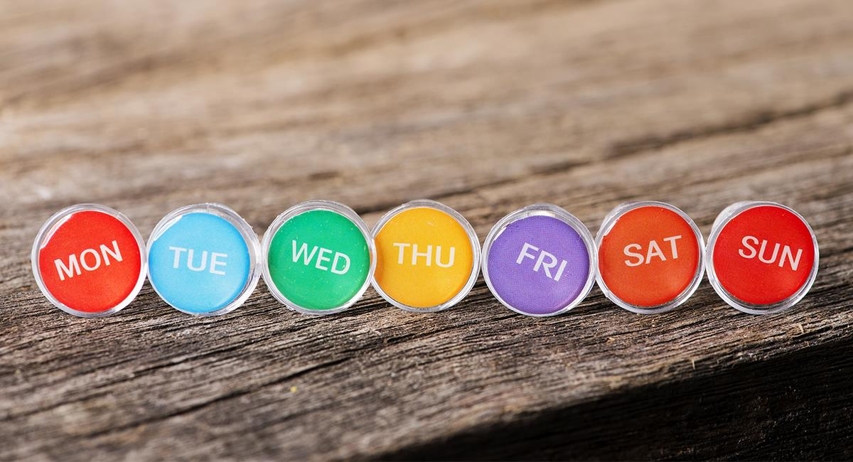 Días de la semana: descubre qué debes hacer en cada uno de ellos según su energía. Foto: Shutterstock