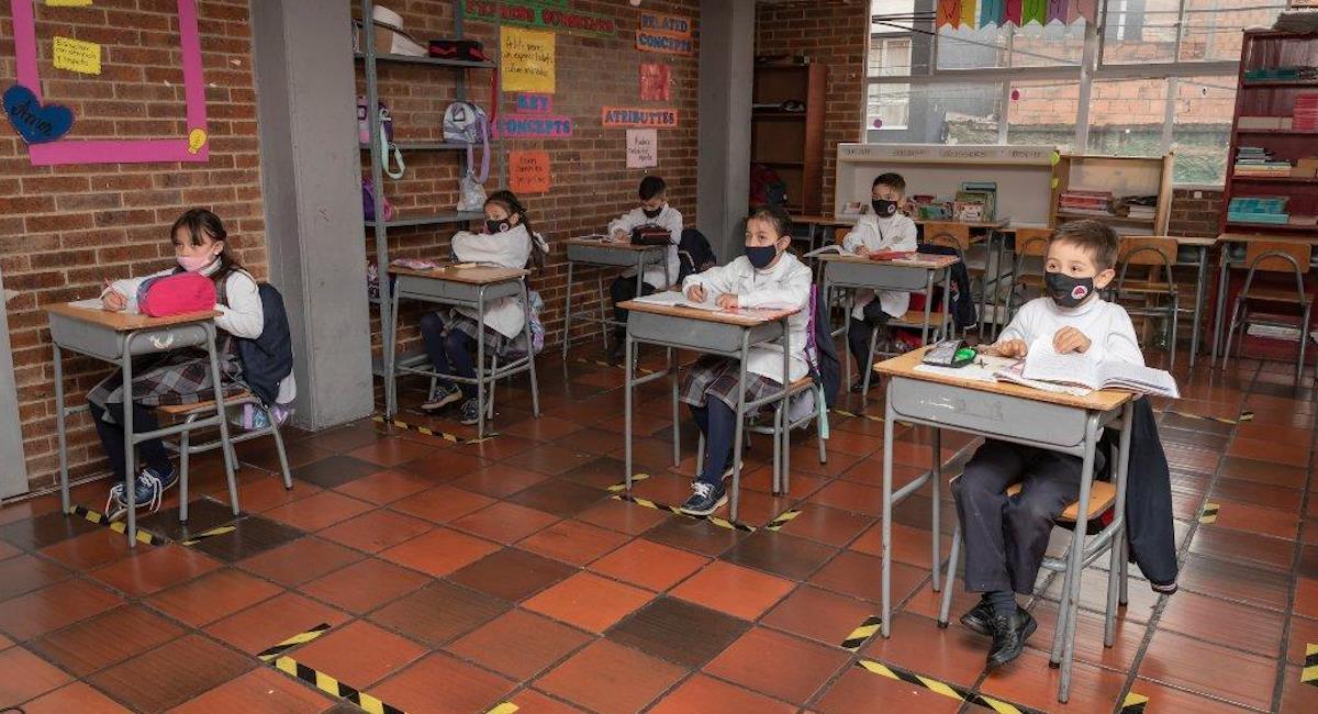 Bogotá se prepara para el regreso a clases en un 100%. Foto: Alcaldía de Bogotá
