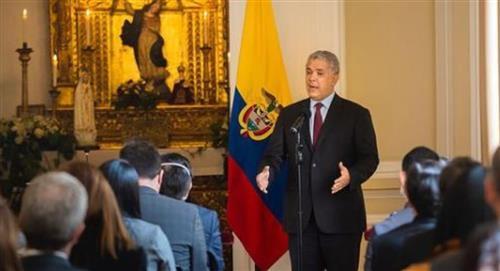 Duque se reúne con senadores de Estados Unidos para abordar narcotráfico y COVID-19