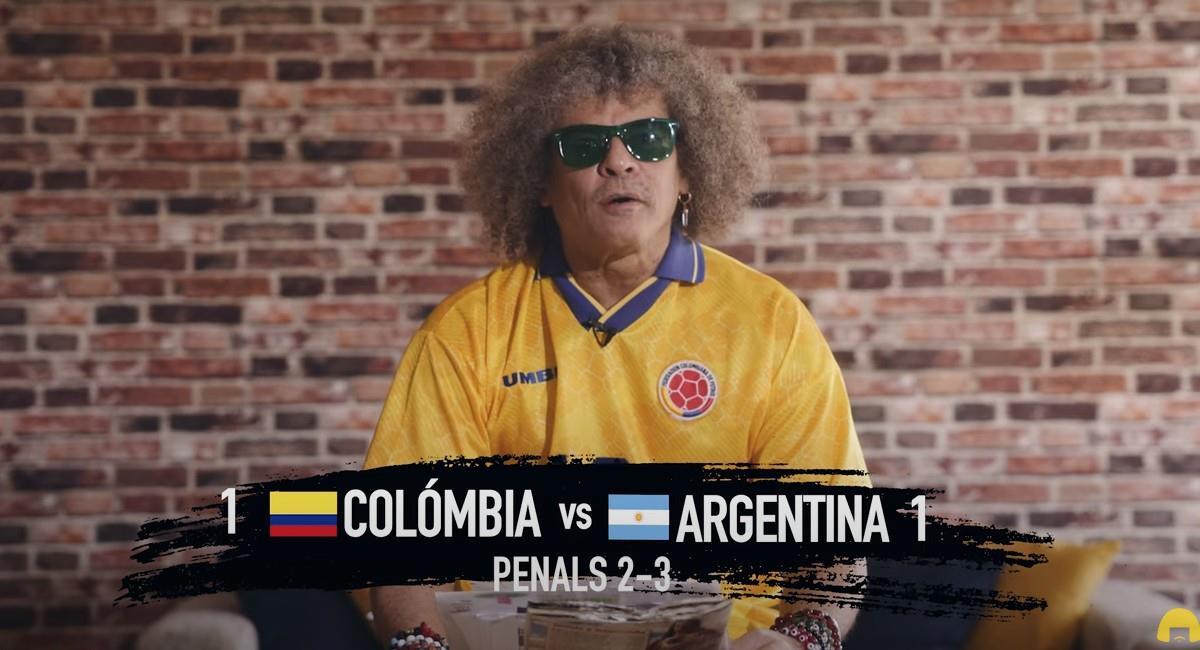 Carlos 'El Pibe' Valderrama, referente de la Selección Colombia. Foto: Youtube