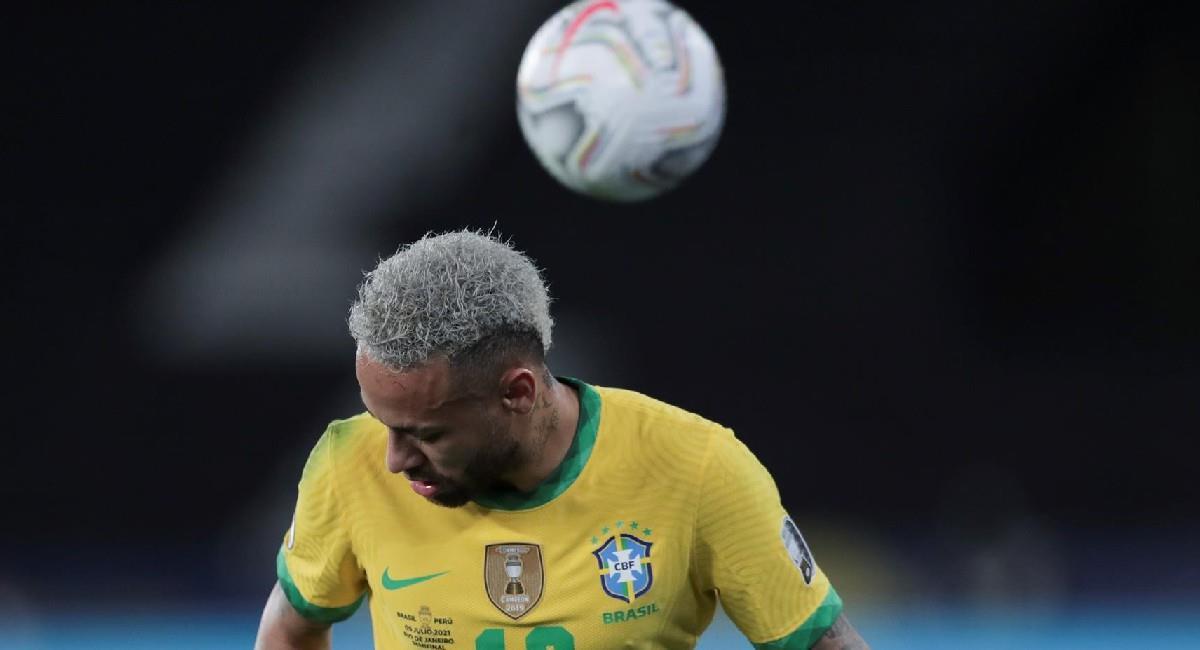 Neymar será pieza fundamental de Brasil en la final ante Argentina. Foto: EFE