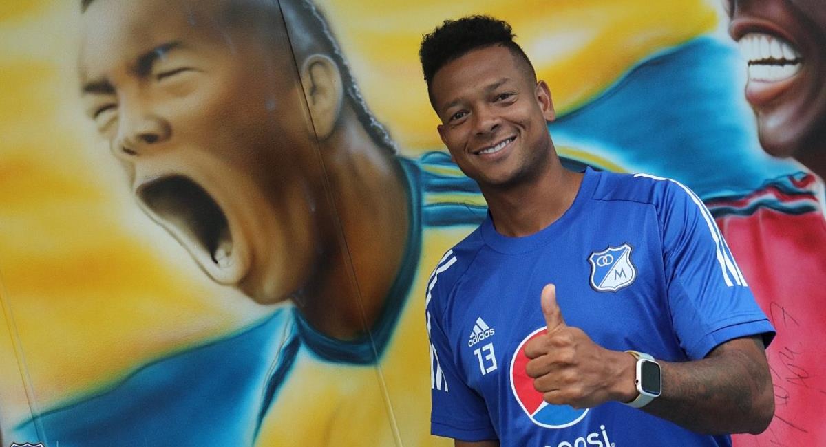 Guarín no va más con Millonarios. Foto: Twitter Prensa redes Millonarios.