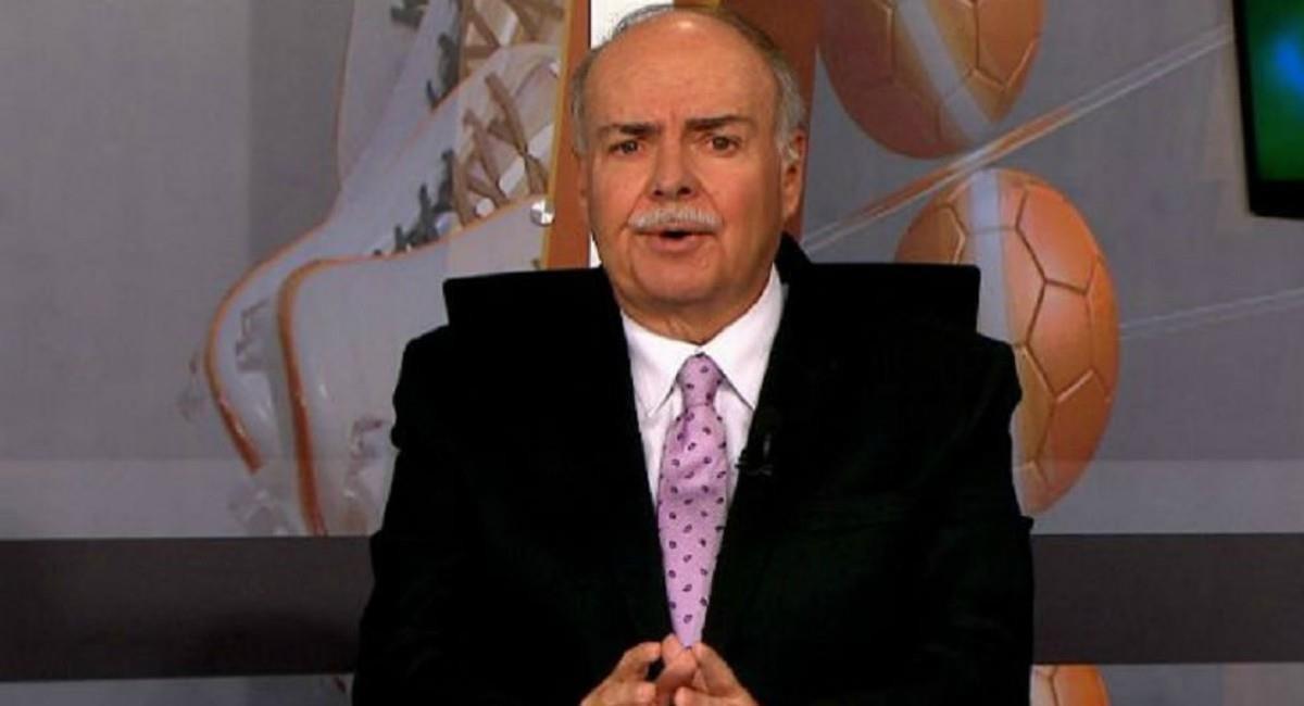 Iván Mejía, periodista deportivo en retiro. Foto: Twitter @winsportstv