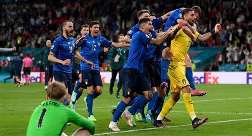 Resultado Italia campeón de la Eurocopa ante Inglaterra por penales