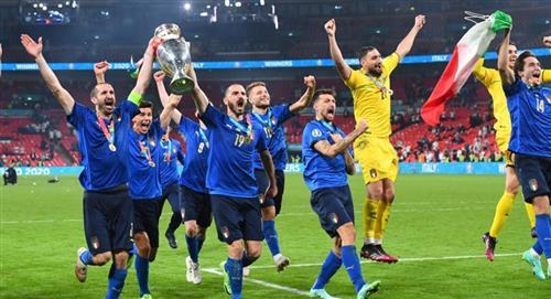 Cuanto dinero se ganaron los jugadores de Italia campeón de Eurocopa Inglaterra
