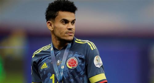 Luis Díaz mejores jugadores elegidos Conmebol de la Copa América Selección Colombia Lionel Messi Neymar