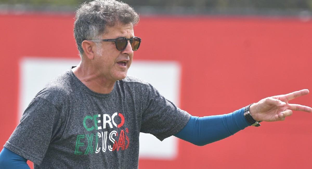 Juan Carlos Osorio, DT de América de Cali. Foto: Twitter @AmericadeCali