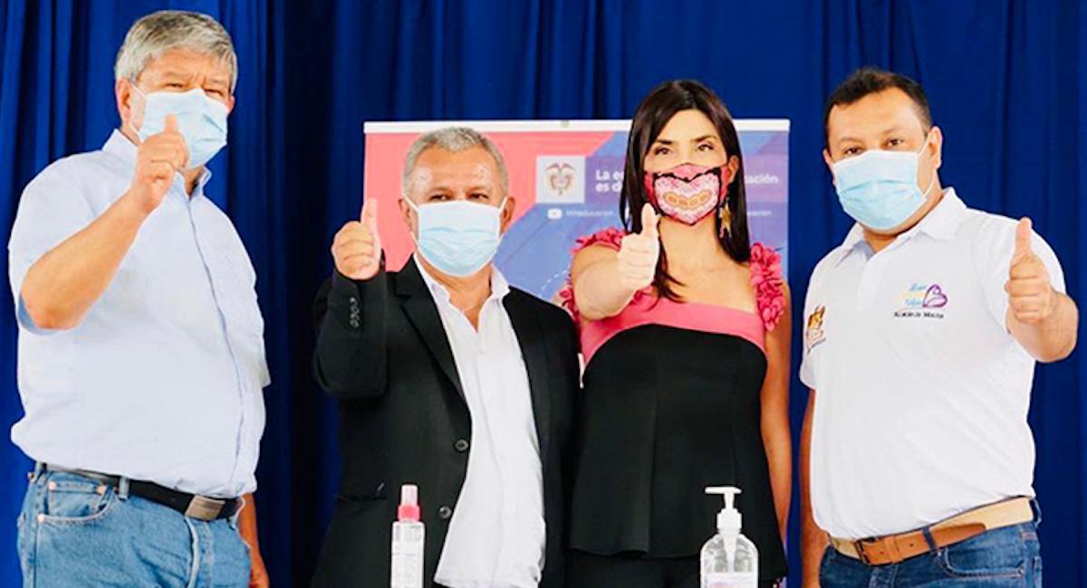 Jóvenes de Santander y Putumayo ingresarán en matrícula cero. Foto: Ministerio de Educación