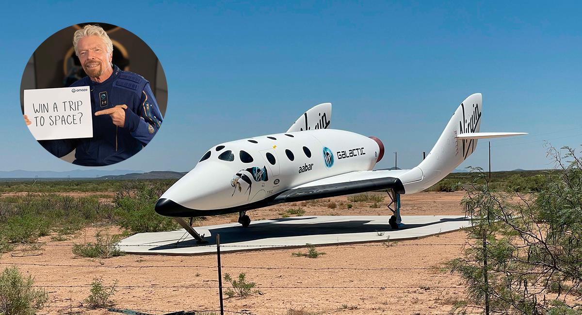 La revolución del turismo espacial: multimillonario viaja al espacio en su propia nave. Foto: Shutterstock /Twitter @SpaceHumanity