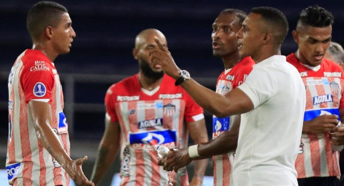 Junior perdió por goleada en la Conmebol Sudamericana. Foto: EFE