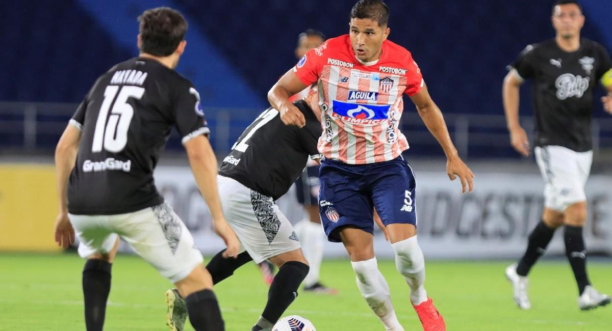 Junior de Barranquilla cayó en el partido de ida de los octavos de final de la Copa Conmebol Sudamericana. Foto: EFE
