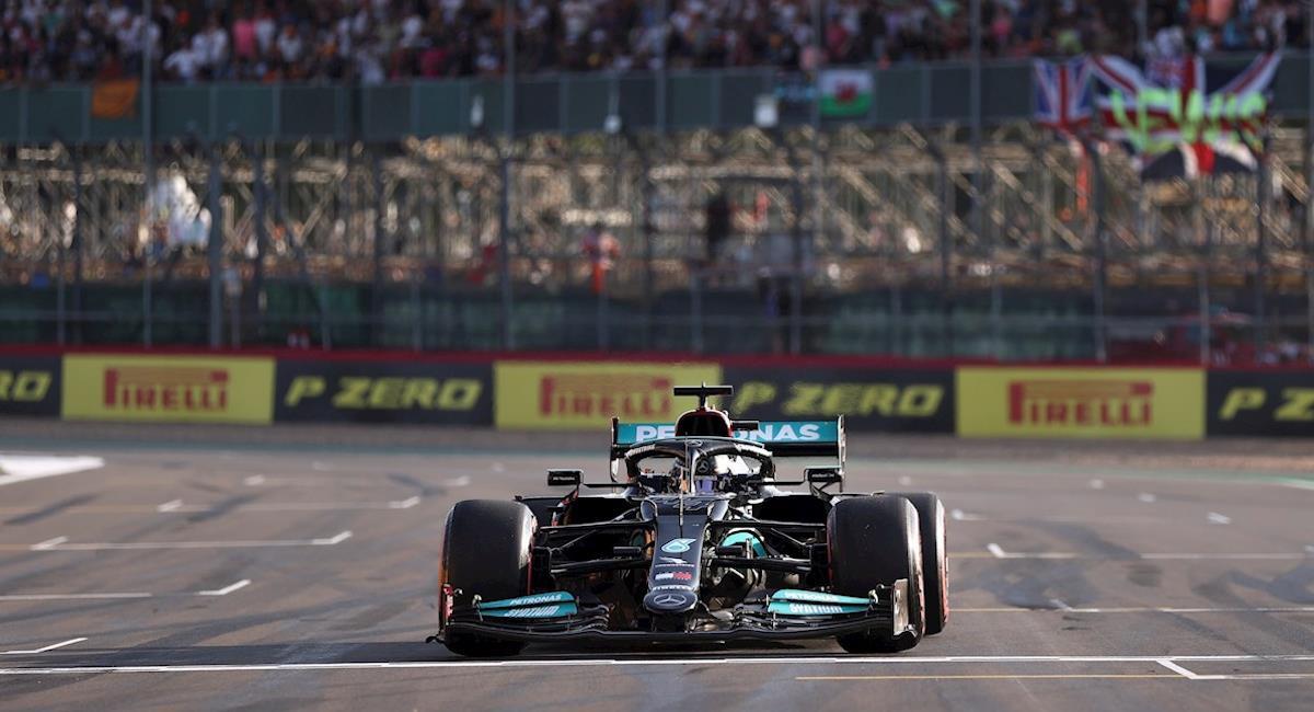 Hamilton saldrá primero en Gran Bretaña. Foto: EFE