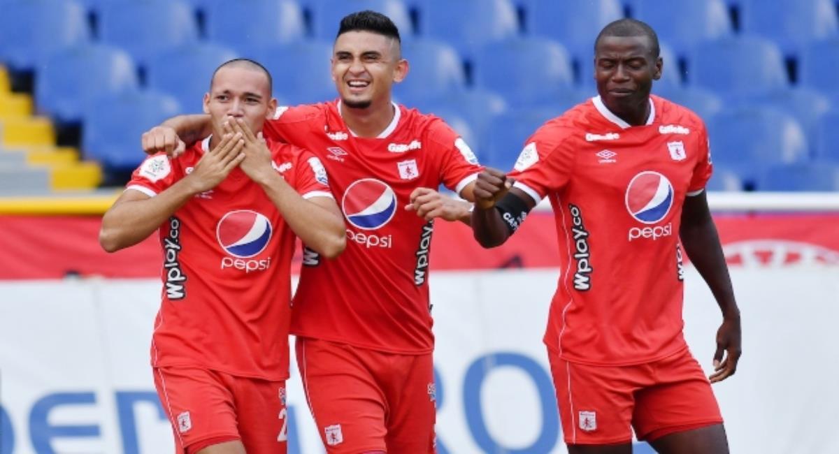 América venció a Junior en el debut. Foto: Twitter Prensa redes Dimayor.