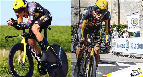 """Wout Van Aert """" voló """" en la penúltima etapa del Tour de Francia"""