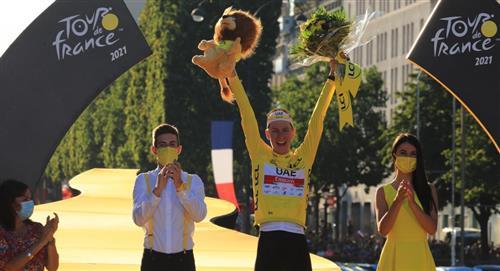 Tour de Francia última etapa Wout van Aert ganador Tadej Pogacar campeón