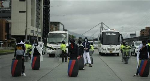 La primera línea de Risaralda anunció que apoyará operativos de la Policía para evitar disturbios