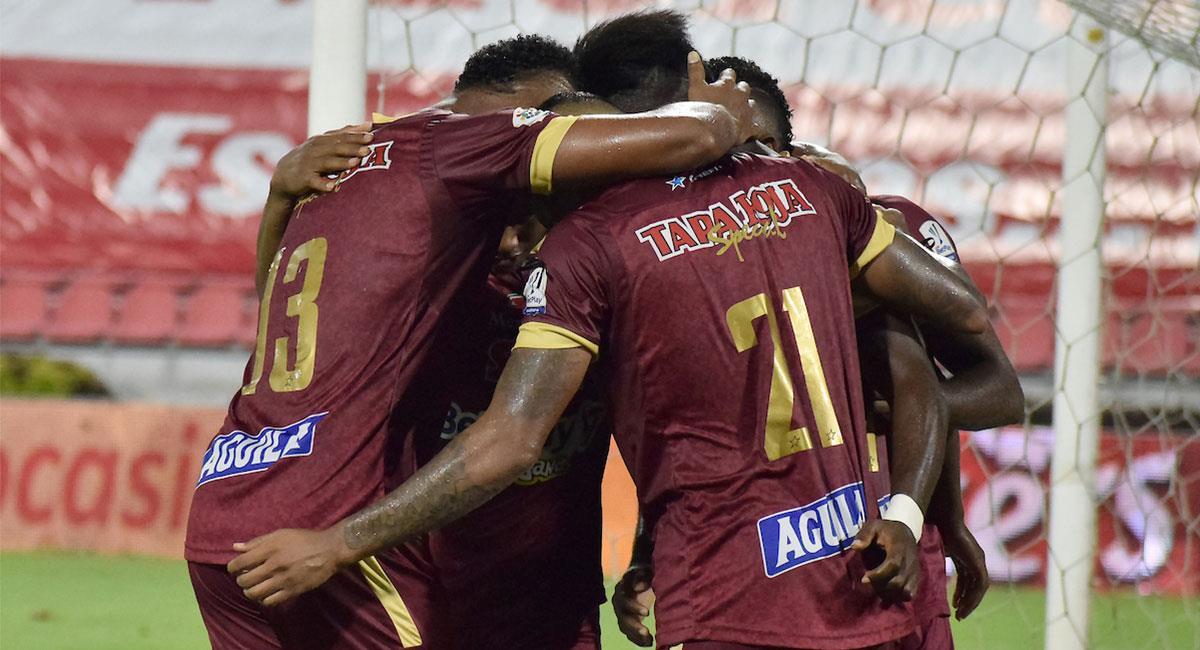 Deportes Tolima arrancó ganando en la Liga BetPlay II. Foto: Twitter @Dimayor