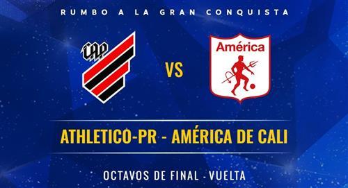 Paranaense vs América de Cali en vivo gratis online Copa Conmebol Sudamericana vuelta