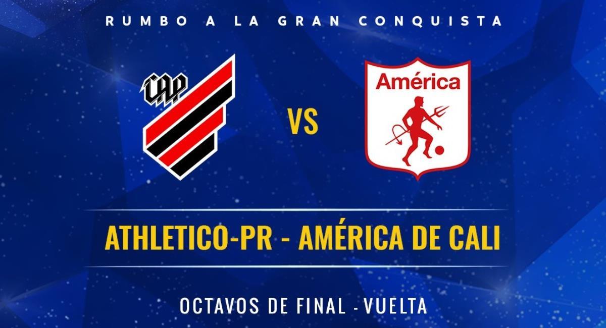 Paranaense vs América en vivo. Foto: Twitter Prensa redes Copa Sudamericana.