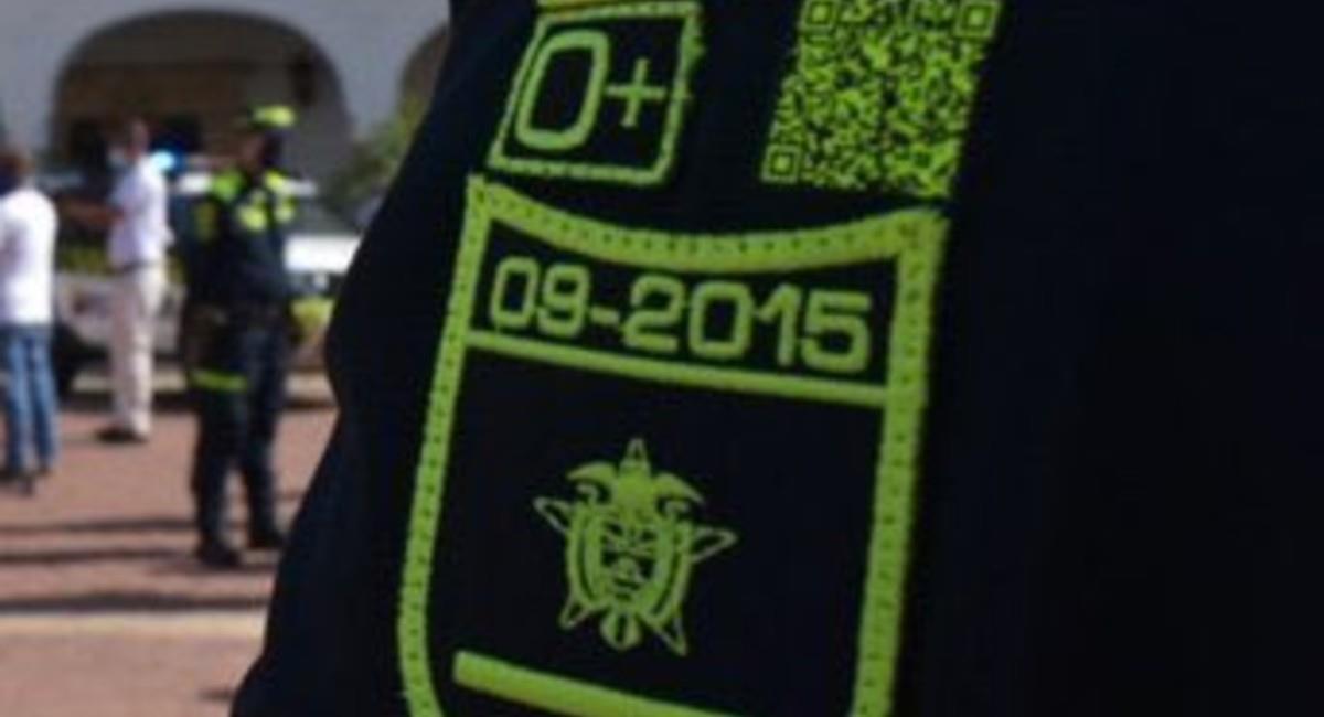 Al escanear le solicitará la identificación del Policía. Foto: Twitter @FelipeOrjuelaR.