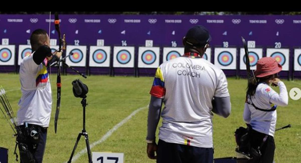 Atletas colombianos en preparación para su debut en los Juegos Olímpicos. Foto: Instagram Redes Comité Olímpico Colombiano