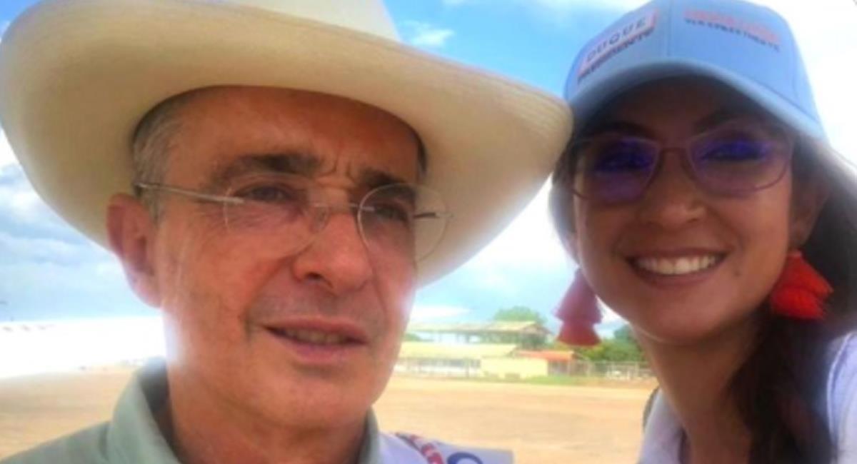 La nueva presidenta de la Cámara es muy cercana al expresidente Álvaro Uribe Vélez. Foto: Twitter @PluralidadZ
