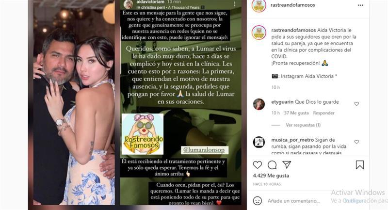 Captura de pantalla. Foto: Instagram