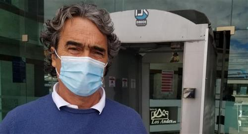 Sergio Fajardo fue operado de emergencia