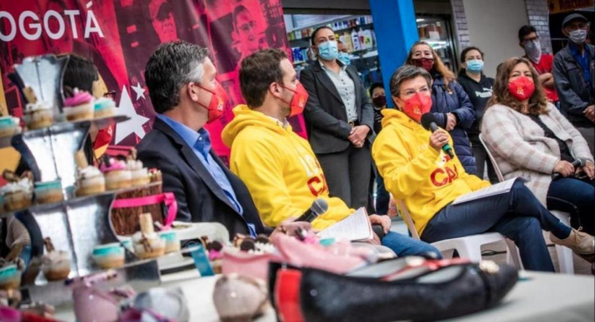 Alcaldía anuncia ayudas económicas para microempresarios de la capital. Foto: Alcaldía de Bogotá