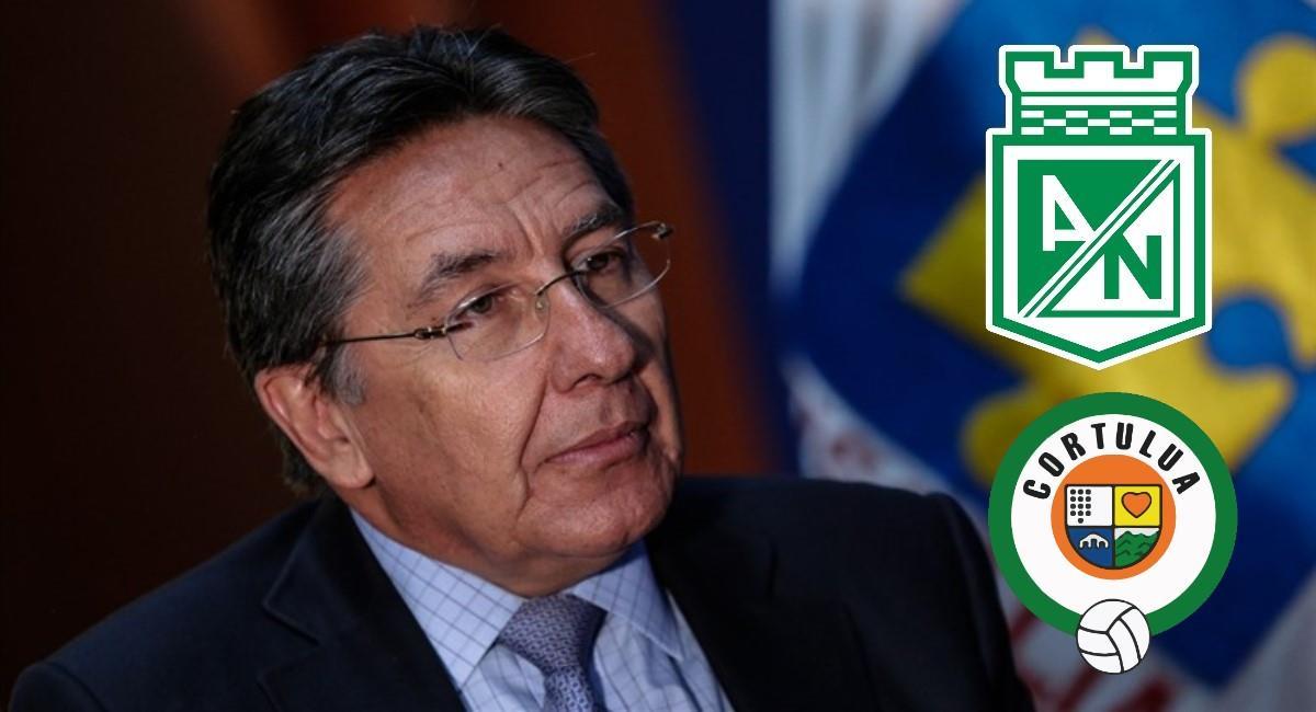 Nacional le pagaría a Cortuluá. Foto: Twitter @CesarJerezM