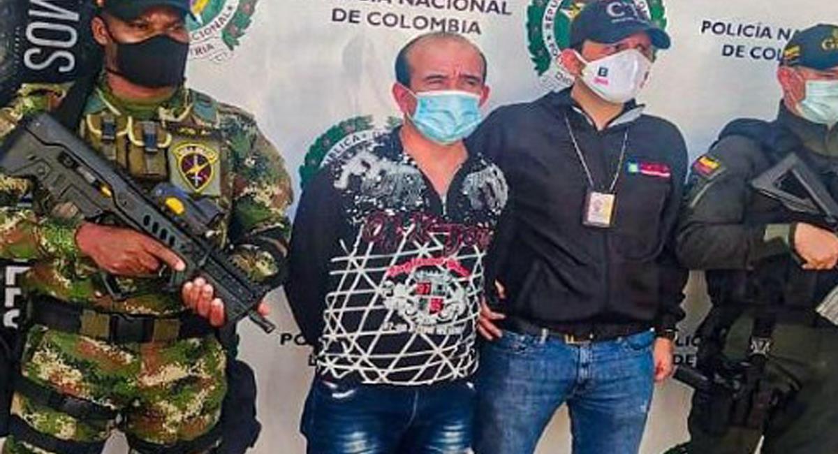 """Por el delito de extorsión agravada tendrá que responder José Olmedo Gallego, alias """"Pablito"""". Foto: Twitter @RedMasNoticias"""
