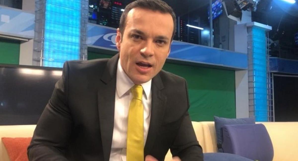 El presentador estará ausente un tiempo. Foto: Instagram @juandiego.alvira.