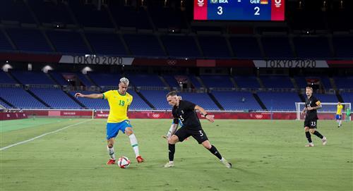 Brasil vs Alemania: victoria de la verdeamarela en su debut en los Juegos Olímpicos