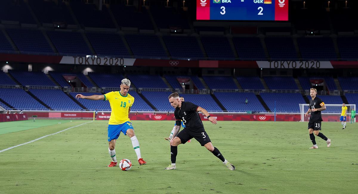Victoria contundente de Brasil ante Alemania. Foto: EFE