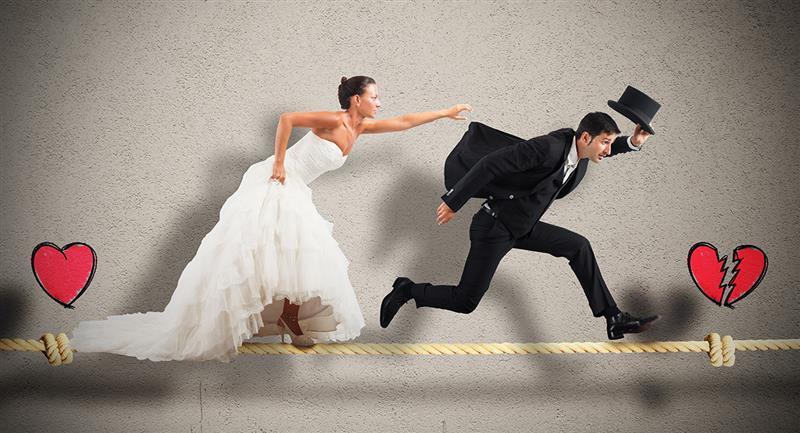 5 signos del zodiaco que le huyen al matrimonio