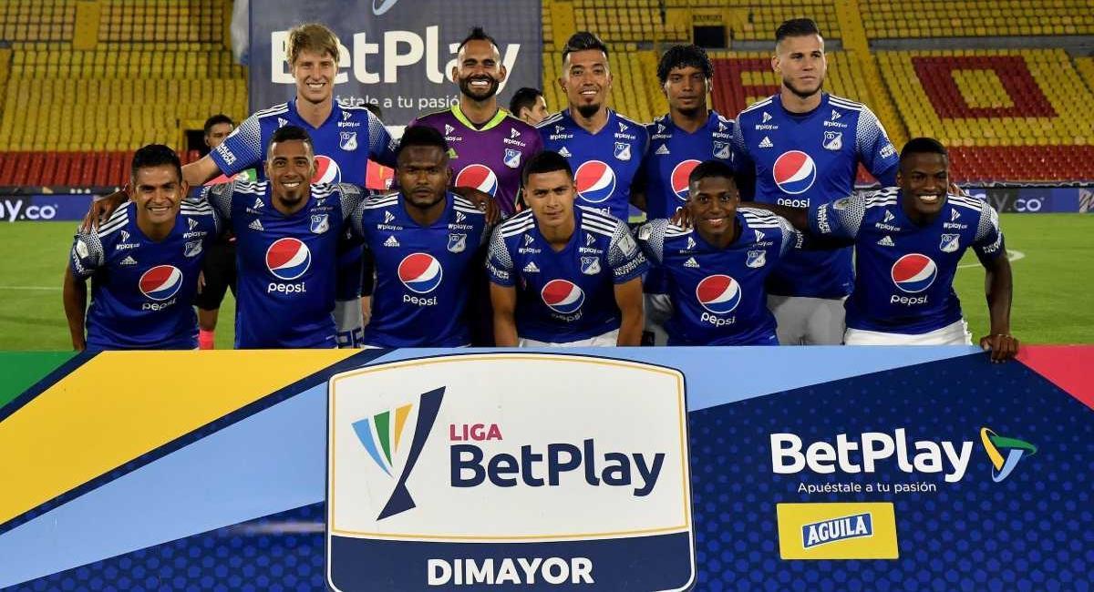 Millonarios vs Quindío. Foto: Dimayor