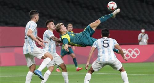 Argentina perdió ante Australia en los Juegos Olímpicos