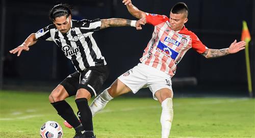 Junior le ganó a Libertad pero quedó eliminado de la Sudamericana